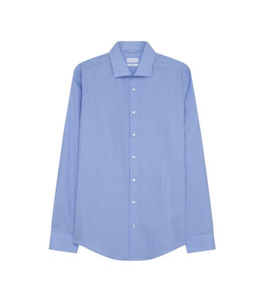 Overhemd Slim Fit Lange mouwen Strepen