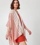 Homewear korte poncho katoen image number 2