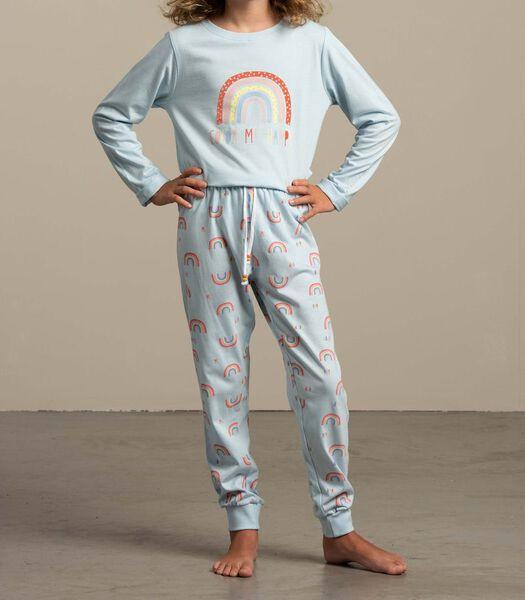 Pyjama lange broek color me happy m-140