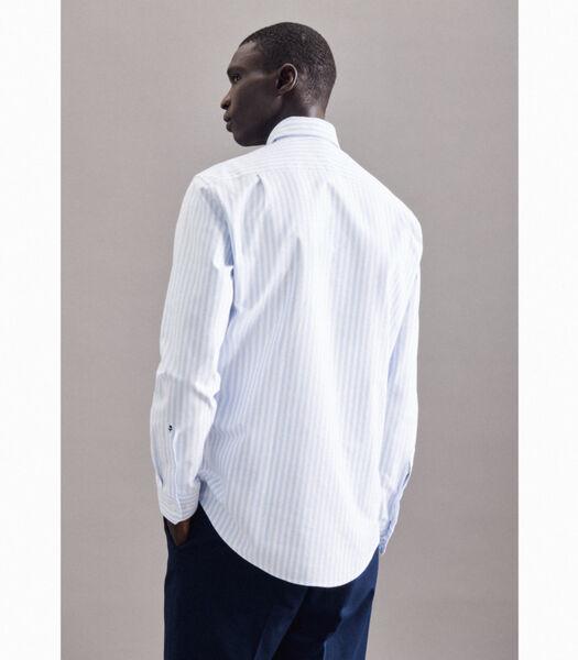 Oxfordhemd Regular Fit Lange mouwen Strepen