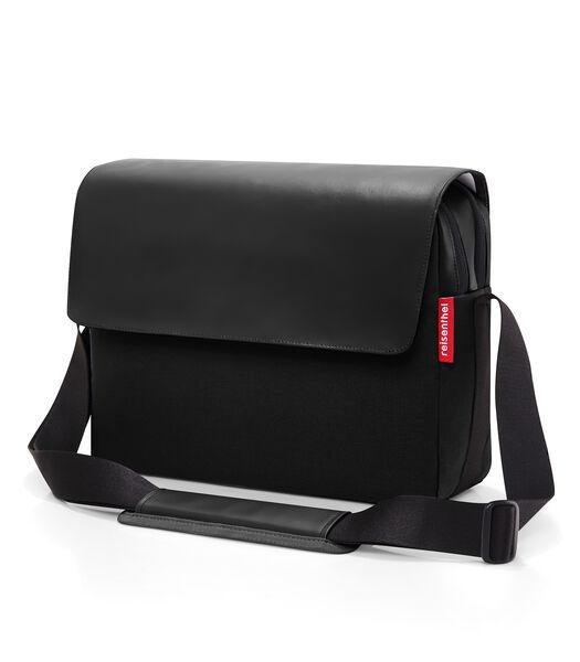 Courierbag 2 Canvas - Crossbodytas - Canvas Zwart