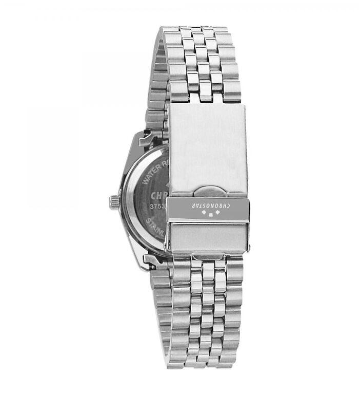 Analoog horloge legering, staal LUXURY image number 1