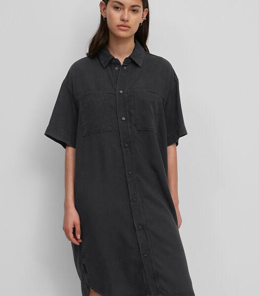 Denim jurk van Tencel™ lyocell