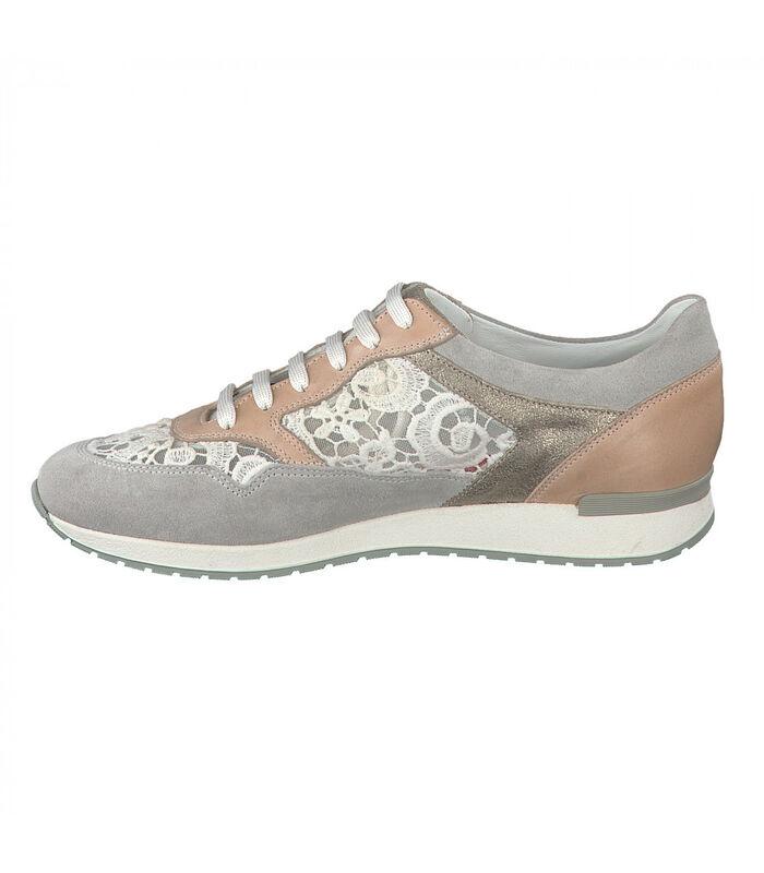 NAPOLIA-Sneakers leer image number 3