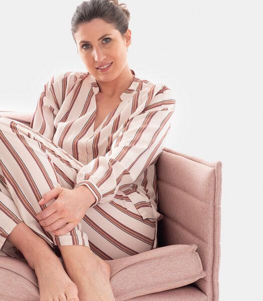 Boréales - Homewear hemd viscose