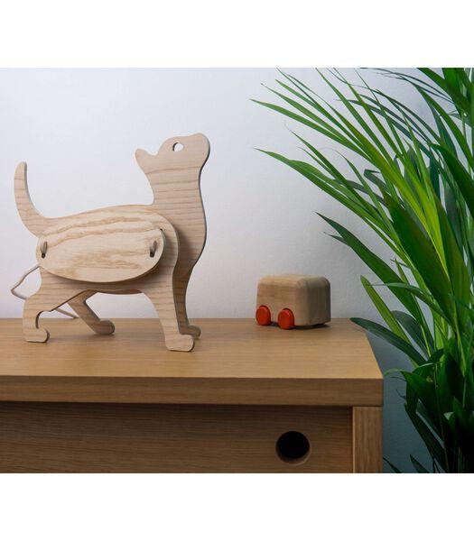 Houten lamp voor kinderen, ZOO Chat