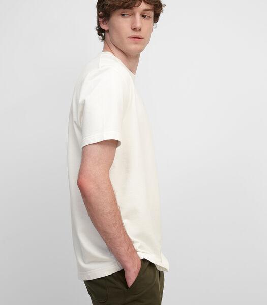 T-shirt van sweatstof van extra lichte terry-sweatstof