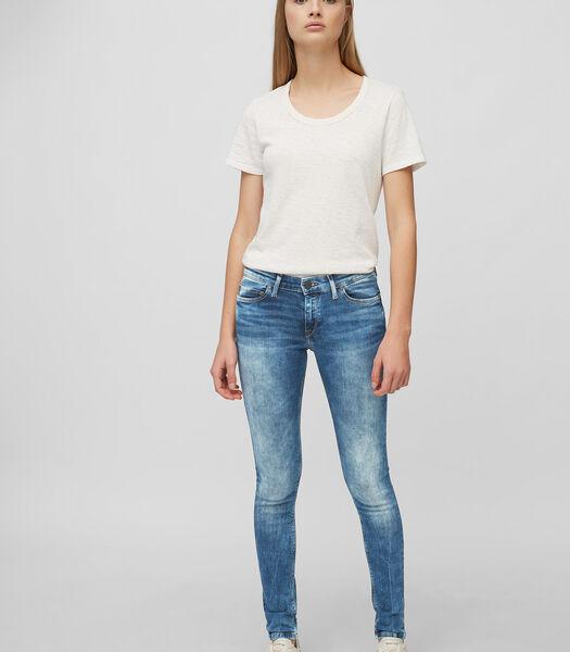 Jeans model SIV super skinny In een 5-pocket-model