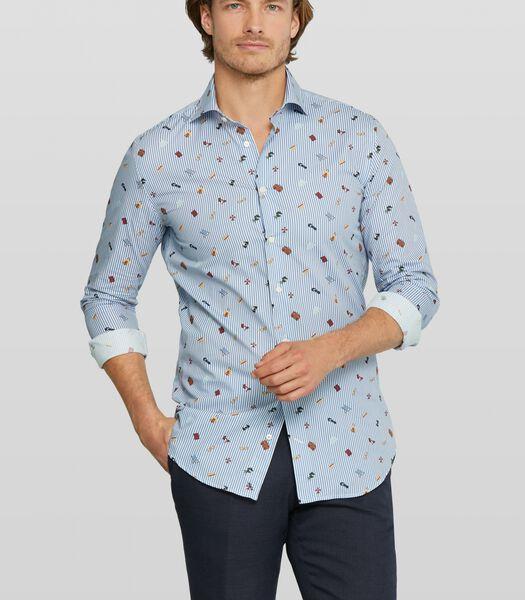 Holiday print shirt