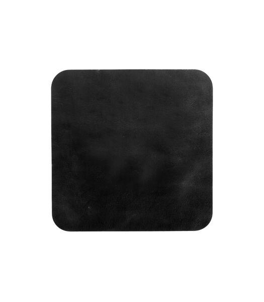 ELLIS onderlegger vierkant zwart