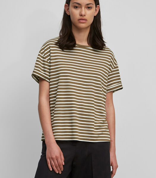 T-shirt van zuivere viscose-jersey