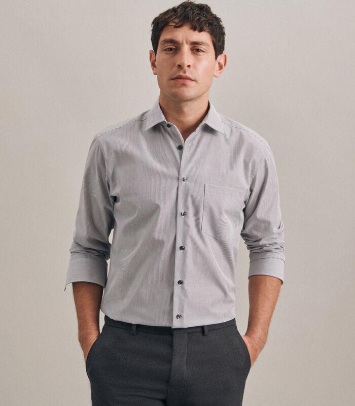 Overhemd Regular Fit Lange mouwen Strepen image number 0