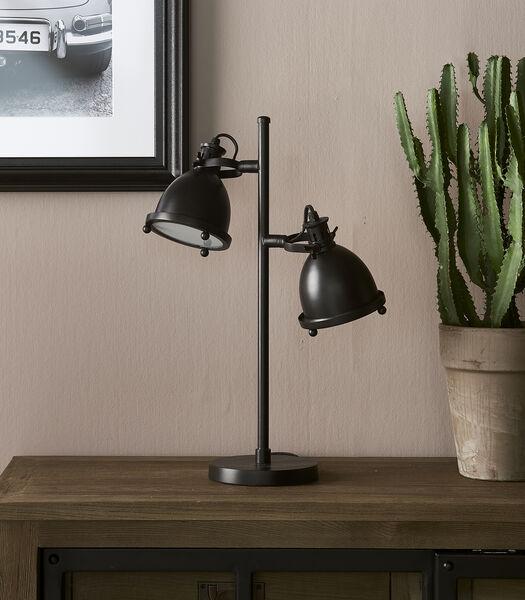 Lampe de bureau Harlem noire