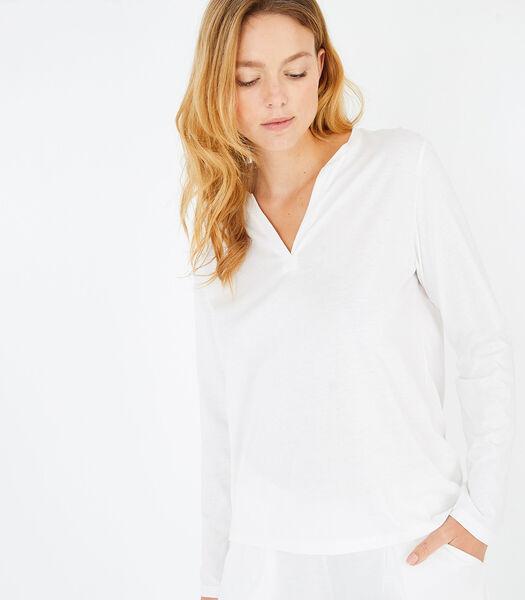 Sonate - Homewear T-shirt met lange mouwen katoenmodal