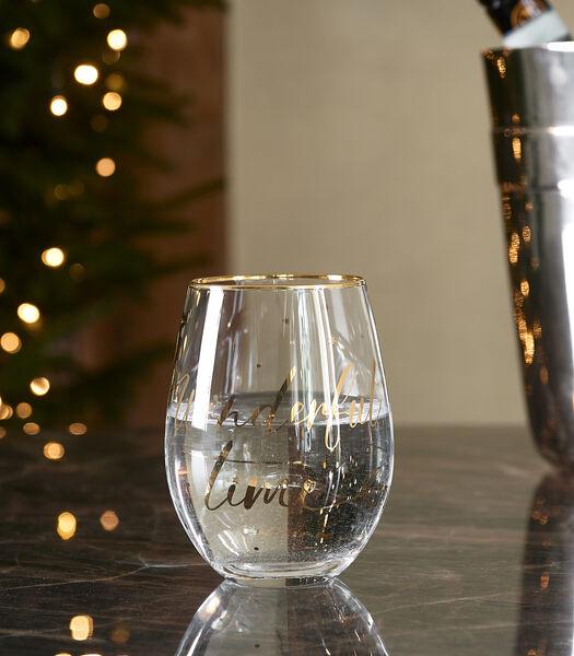 Celebrate Water Glass