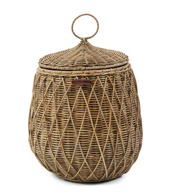 RR Diamond Weave Storage Basket image number 0