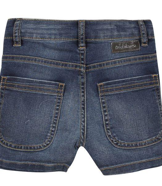 5 pocket denim short