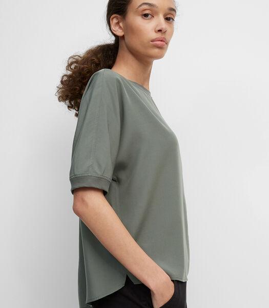 Blouseachtig shirt van Tencel™ lyocell