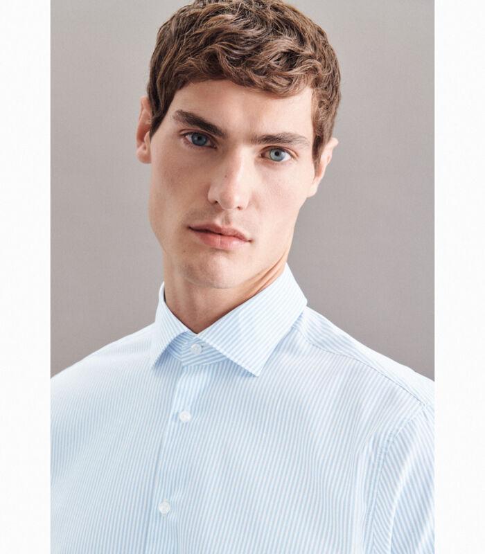 Performance hemd Regular Fit Lange mouwen Strepen image number 2
