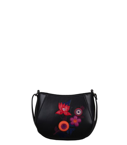 Crossbody tas Bouquet - zwart