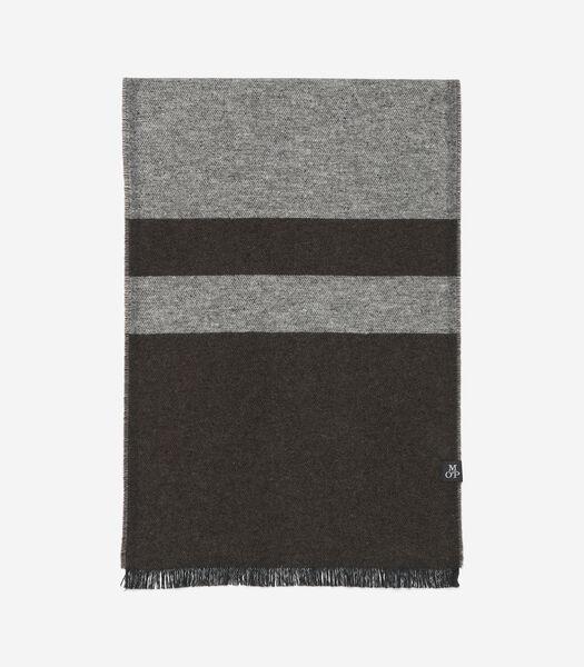 Geweven sjaal van gerecycled katoen