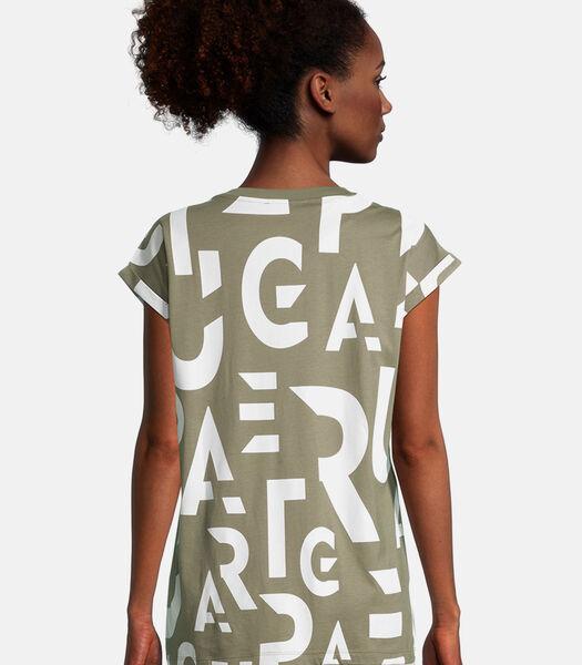 Shirt met korte mouwen met print