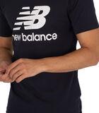 T-shirt à logo empilé Essentials image number 3