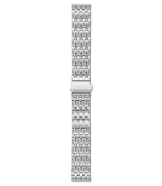Elite Horlogeband zilverkleurig R18M1SS1