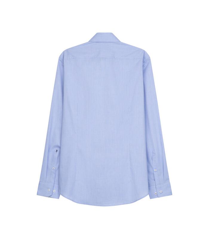 Overhemd Slim Fit Extra lange mouwen Uni image number 1