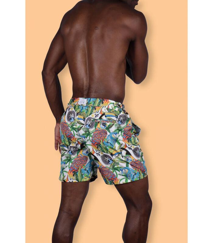Zwemshort polyamide  print Formentera image number 3