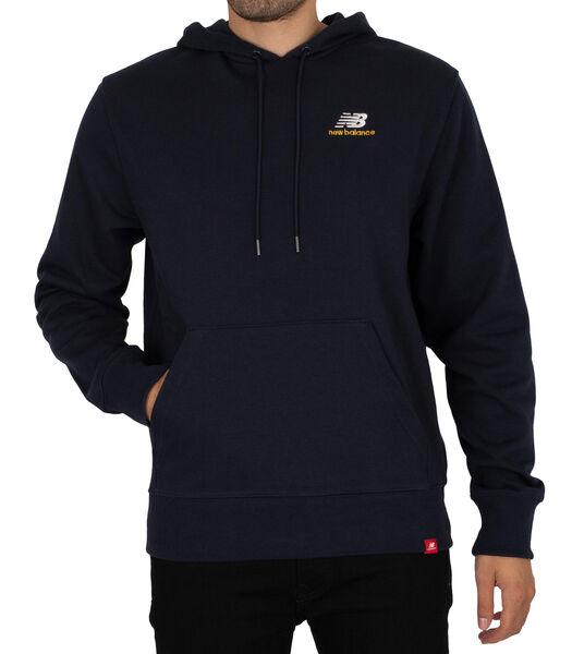 Essentials geborduurde pullover-hoodie