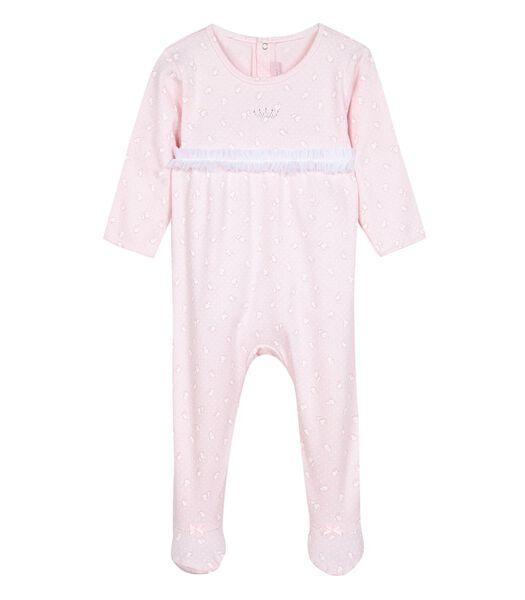 Katoenen pyjama met voeten