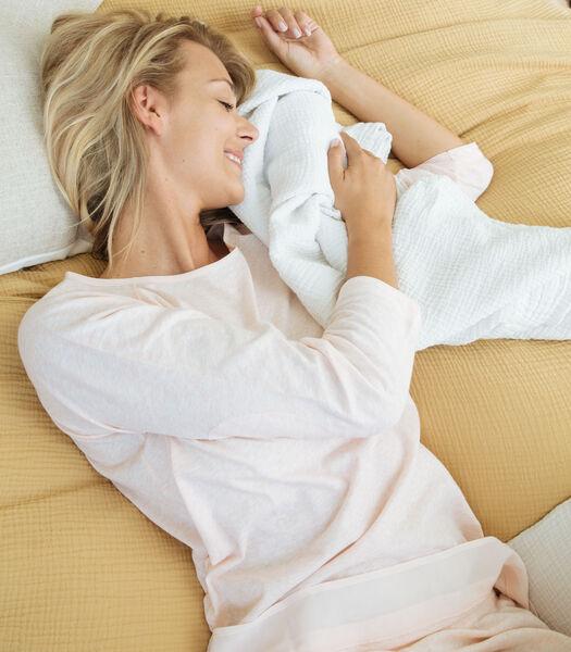 Pyjama van katoen en zijde jersey, JULIA