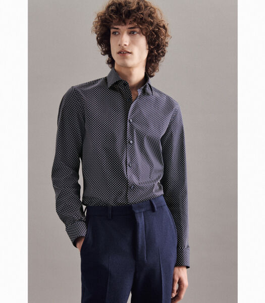 Overhemd Slim Fit Lange mouwen Print