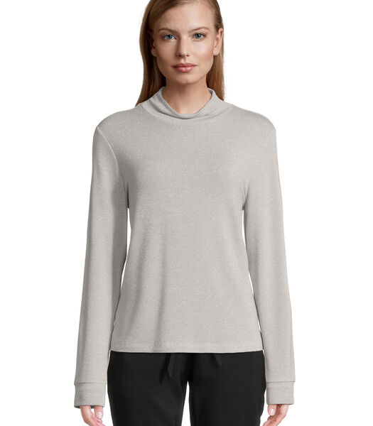 Shirt – lange mouwen in glitterlook
