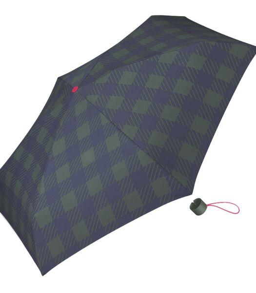 "Paraplu Petito Dame bedrukt ""Gingham checks jungle"""