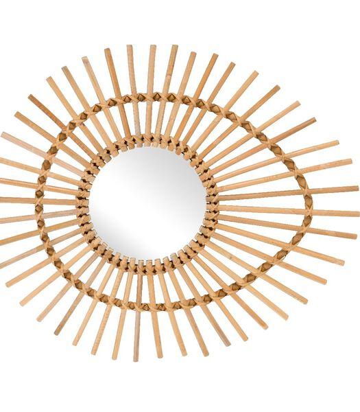 Vintage spiegel ellips SOLEIL 74x64cm