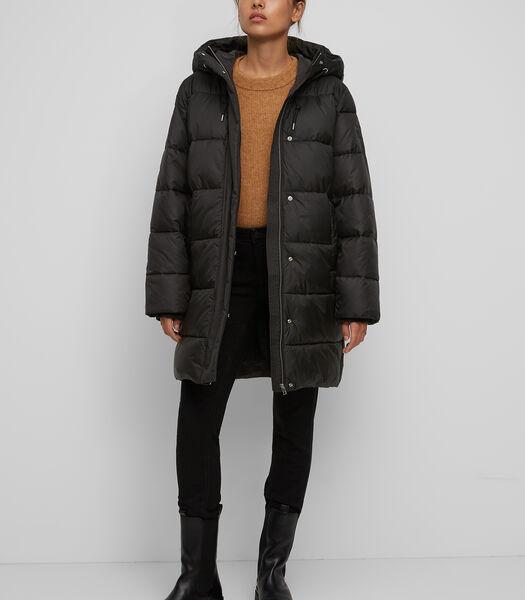 Gewatteerde jas in midilengte Slow Down – No Down