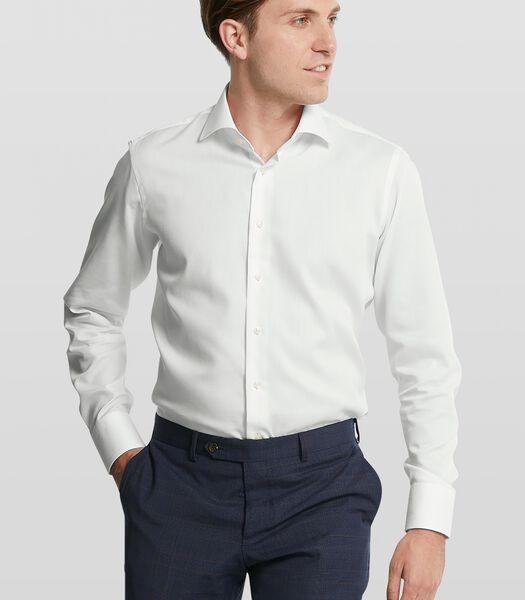 Dobby overhemd met strijkvrije finish