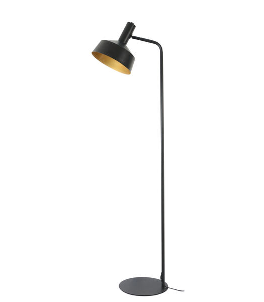 Vloerlamp Yvla - Mat Zwart - 44x30x158 cm
