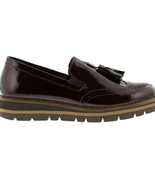 Leren loafers
