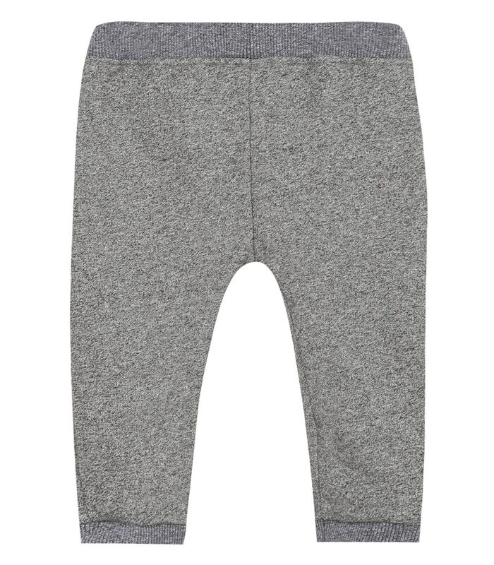 Fleece broek met elastische riem image number 1