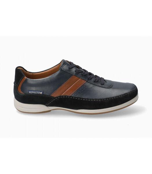RENZO-Sneakers leer