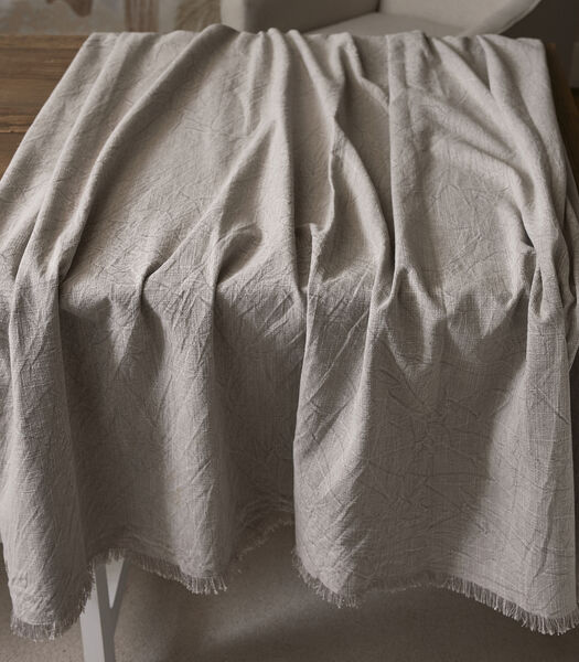 Boho Basic Table Cloth quiet grey