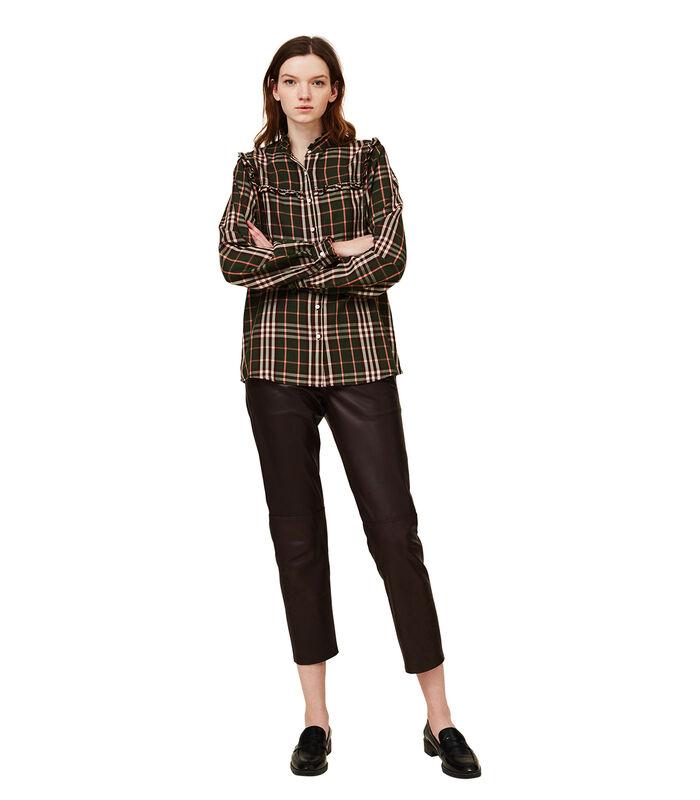 Jordan lyocell blouse met ruches image number 1