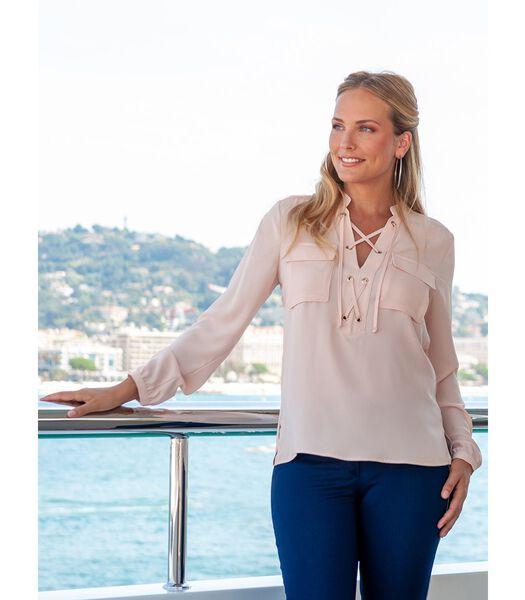 HARPER crêpe blouse