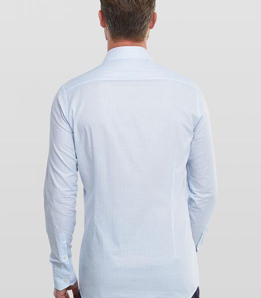 Overhemd met Gemeleerd streepdessin