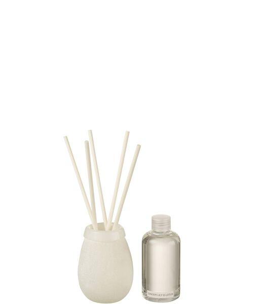 Huile Parfumee Batonnets Capri 200Ml Blanc