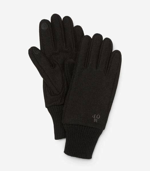Gants doigts compatibles avec les écrans tactiles