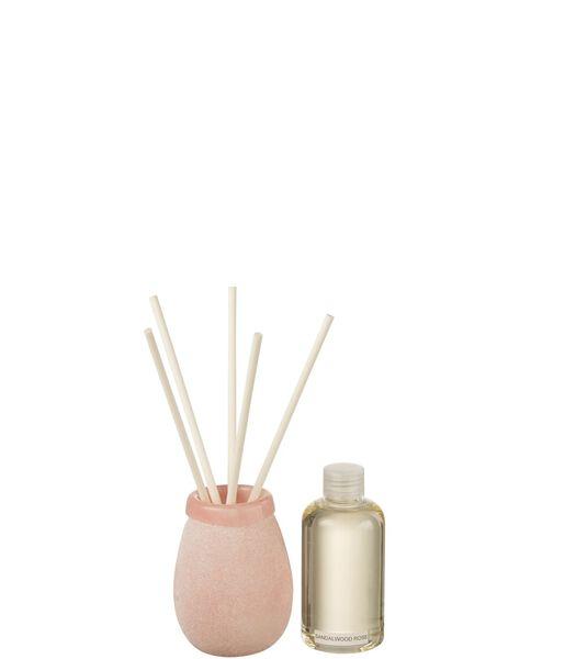 Huile Parfumee Batonnets Capri 200Ml Rose Clair
